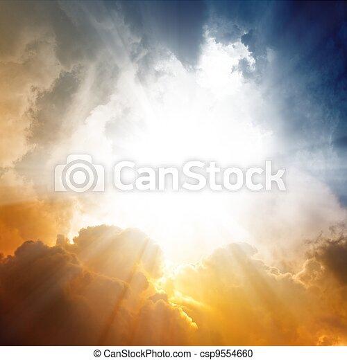 όμορφος , ουρανόs  - csp9554660