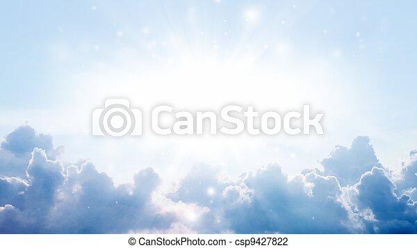όμορφος , ουρανόs  - csp9427822