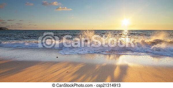 όμορφος , seascape. - csp21314913