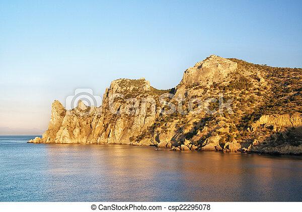 όμορφος , seascape. - csp22295078