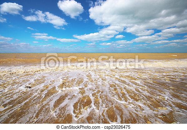 όμορφος , seascape. - csp23026475