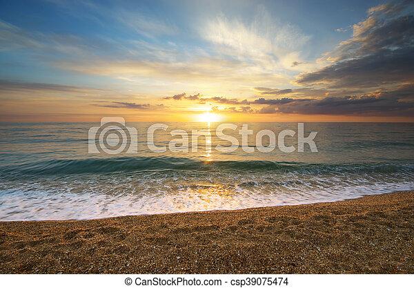 όμορφος , seascape. - csp39075474