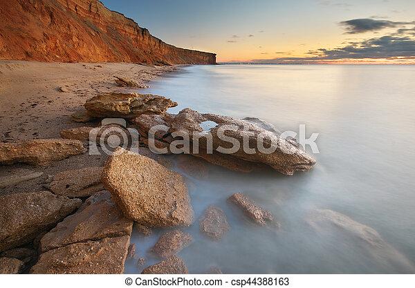 όμορφος , seascape. - csp44388163
