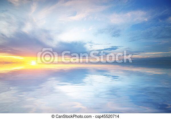 όμορφος , seascape. - csp45520714