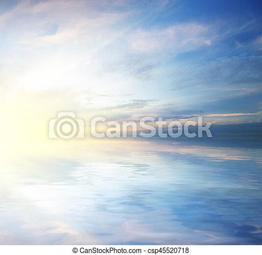 όμορφος , seascape. - csp45520718