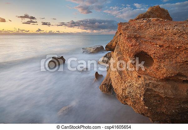 όμορφος , seascape. - csp41605654