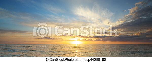 όμορφος , seascape. - csp44388180