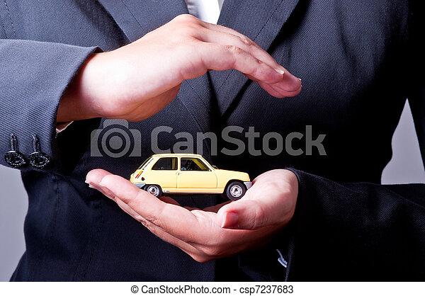 автомобиль, страхование - csp7237683