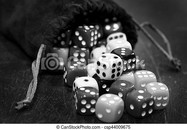 азартные игры, игральная кость, свая, шанс, games, игорный, playing - csp44009675