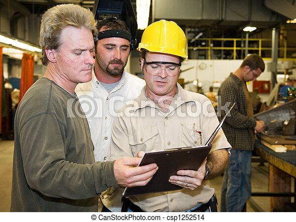 аудит, workers, внутренний, завод - csp1252514