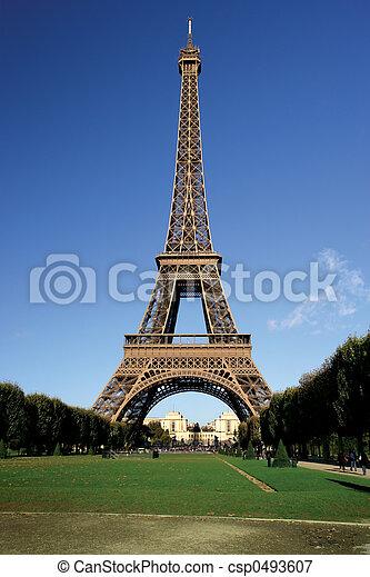 башня, eiffel - csp0493607