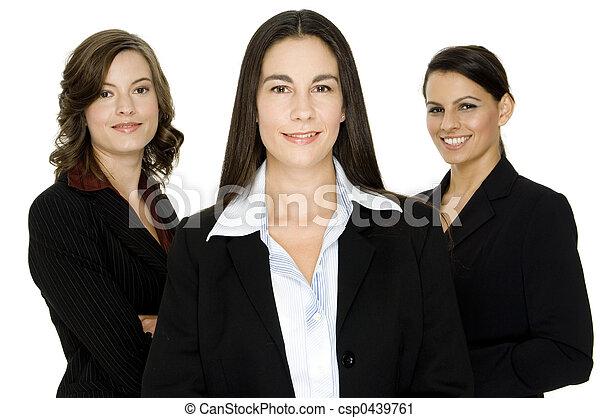 бизнес, женщины - csp0439761
