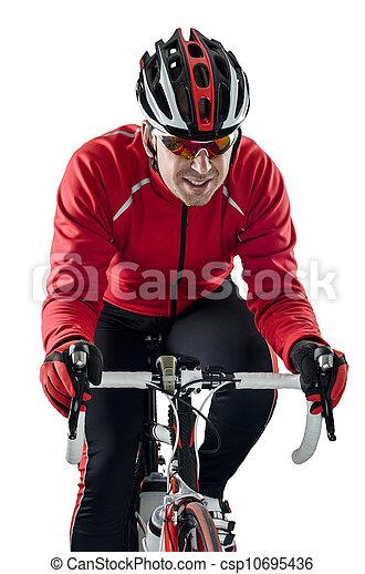 велосипедист, верховая езда, велосипед - csp10695436