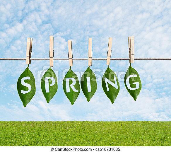 весна, концепция - csp18731635