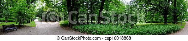 весна, парк, время - csp10018868