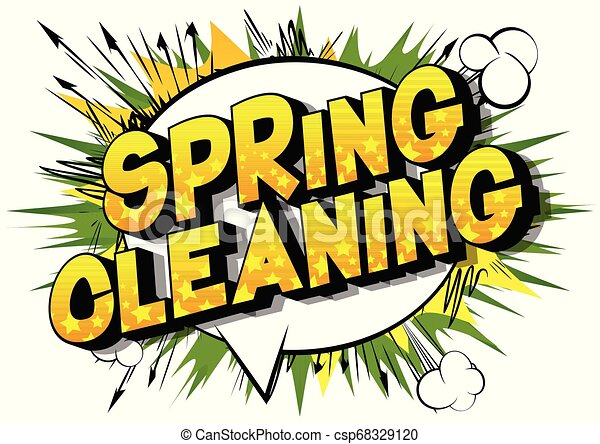 весна, уборка - csp68329120
