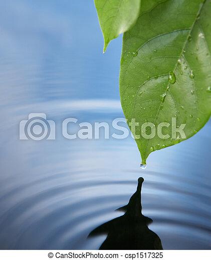 воды, падение - csp1517325