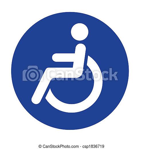 гандикап, логотип - csp1836719
