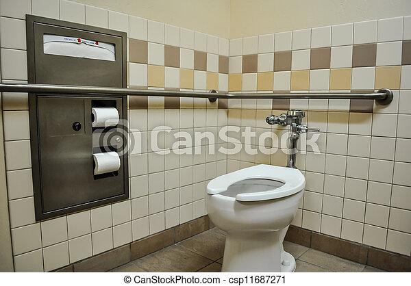 гандикап, туалет, стойло - csp11687271