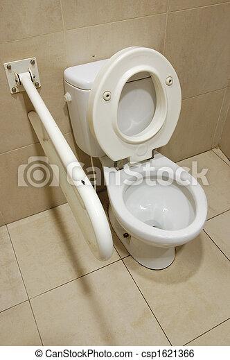гандикап, туалет - csp1621366