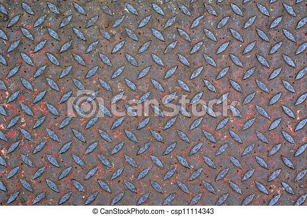 гранж, бриллиант, металл, задний план - csp11114343