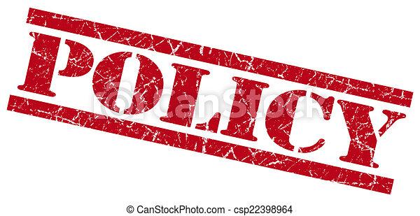 гранж, печать, isolated, политика, белый, красный - csp22398964