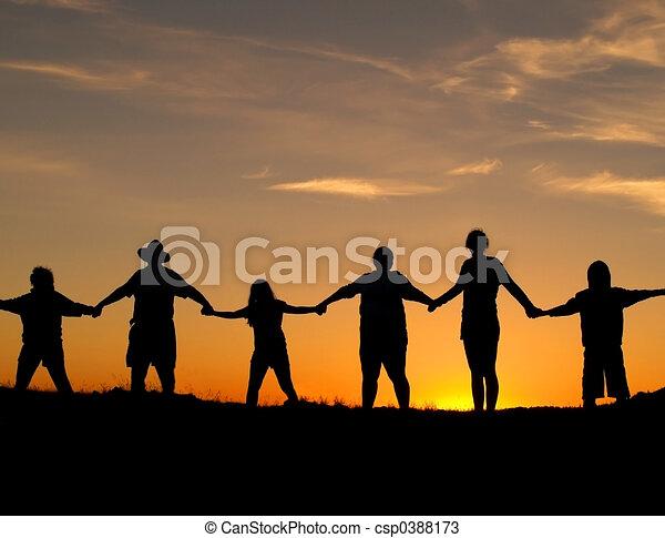 единство, прочность - csp0388173