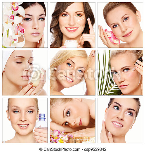 женщина, красота - csp9539342