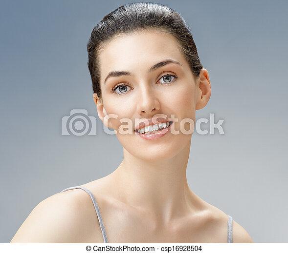 женщина, красота - csp16928504