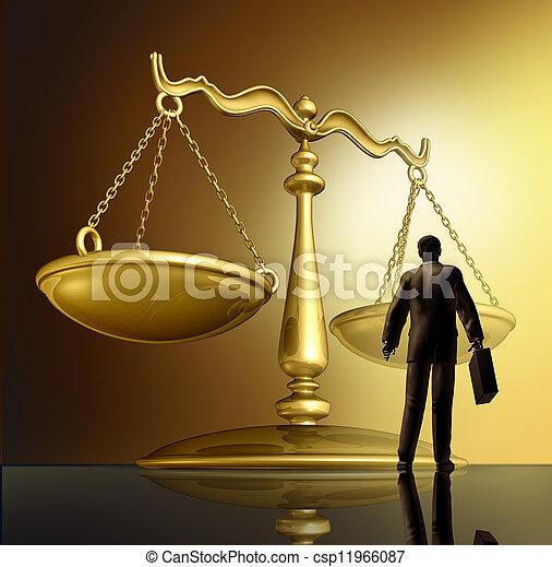 закон, адвокат - csp11966087