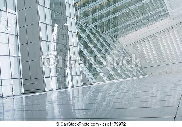 здание, абстрактные, бизнес, задний план - csp1173972
