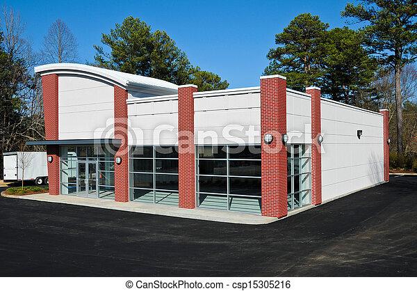 здание, новый, коммерческая - csp15305216