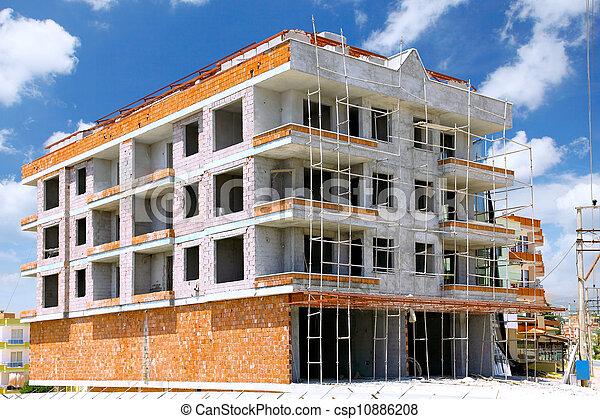 здание, строительство, под - csp10886208