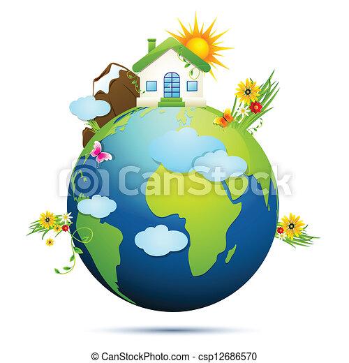 земля, чистый - csp12686570