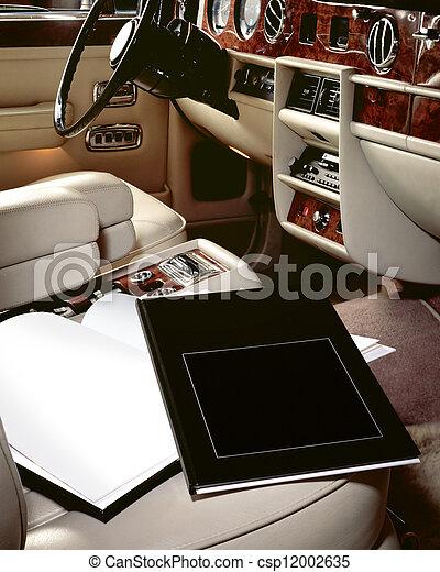интерьер, автомобиль, books, роскошь, сиденье - csp12002635