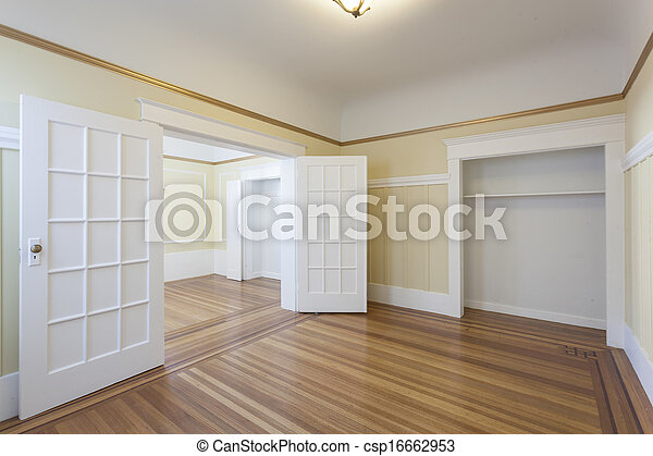 квартира, студия, чистый, пустой, комната - csp16662953