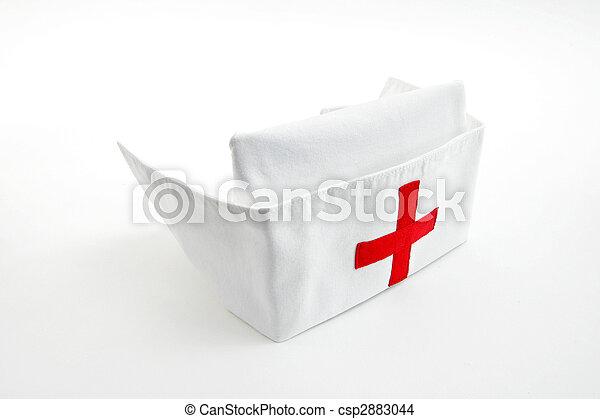 кепка, медсестра - csp2883044