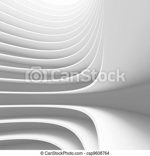 концептуальный, дизайн, архитектура - csp9608764