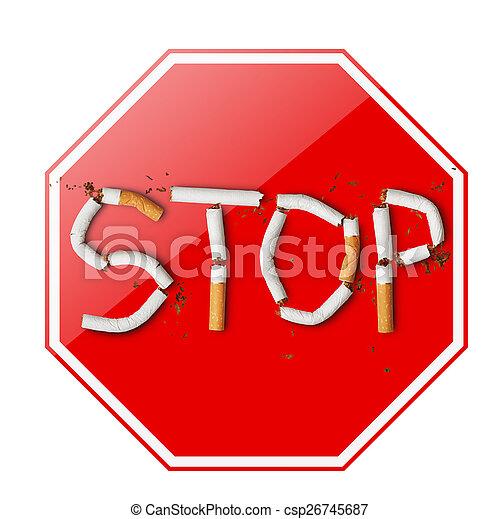 курение, стоп - csp26745687