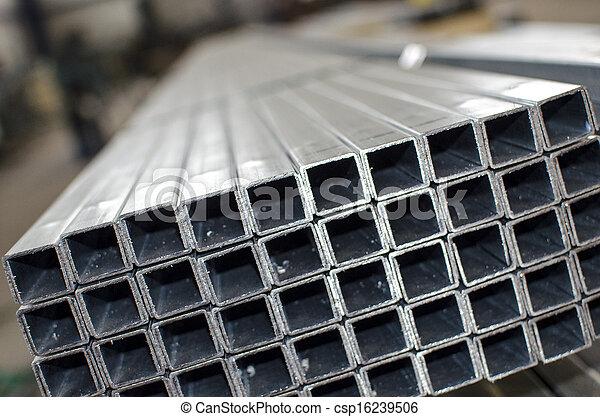 лист, металл, вверх, profiles, закрыть - csp16239506