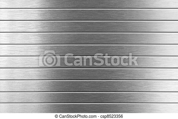 металл, серебряный, задний план - csp8523356