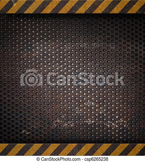 металл, сетка, задний план, perforated, holed, или - csp6265238