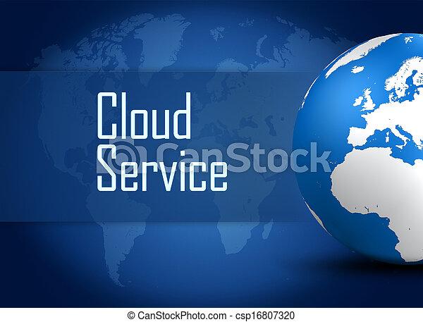 облако, оказание услуг - csp16807320