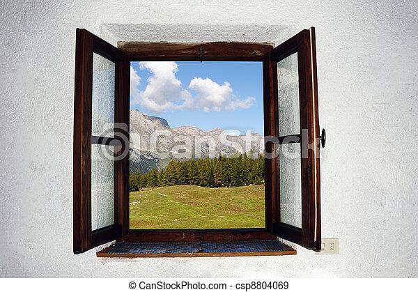 окно, открытый - csp8804069