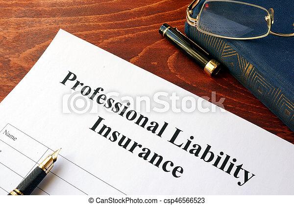 ответственность, профессиональный, страхование, политика - csp46566523