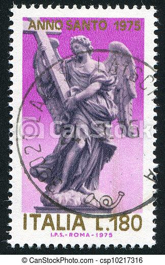 пересекать, ангел - csp10217316