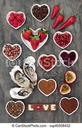 питание, афродизиак, пробоотборник - csp45938432