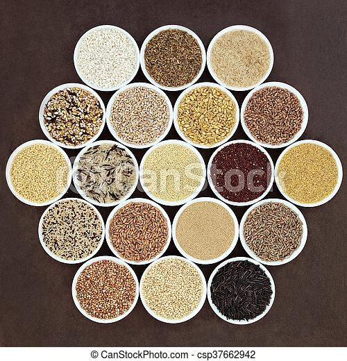 питание, зерно, пробоотборник - csp37662942