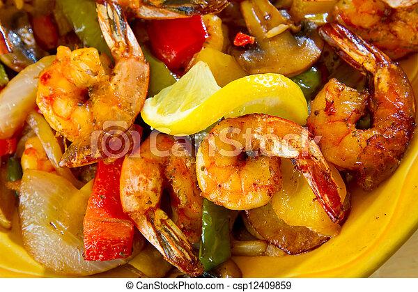 питание, мексиканский, ресторан - csp12409859
