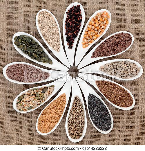 питание, семя, пробоотборник - csp14226222